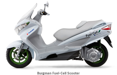 Burgman Fuel-Cell Scooter