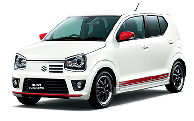 all-new Alto Turbo RS