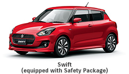 Swift (equipped with Safety Package)