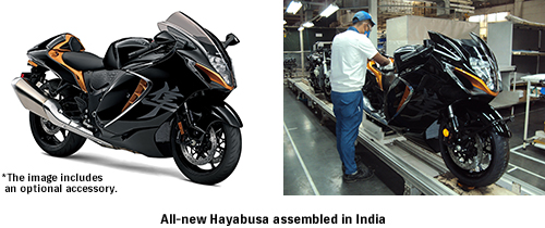 All-new Hayabusa assembled in India