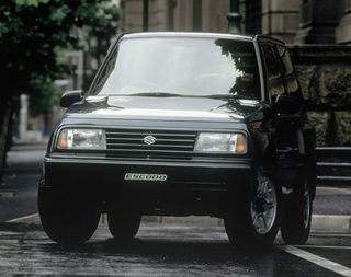 1988the suzuki 4x4 family expanded with launch of the all-new vitara