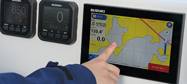 NEW SUZUKI MULTI-FUNCTION DISPLAY | MARINE | Global Suzuki