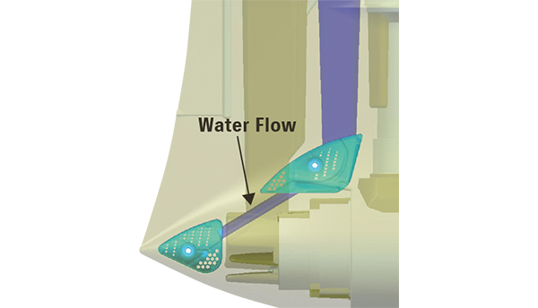 Diagram of TWO-WAY WATER INLET